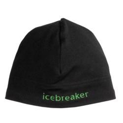 Icebreaker Mogul Beanie Hat - Merino Wool (For Men and Women)