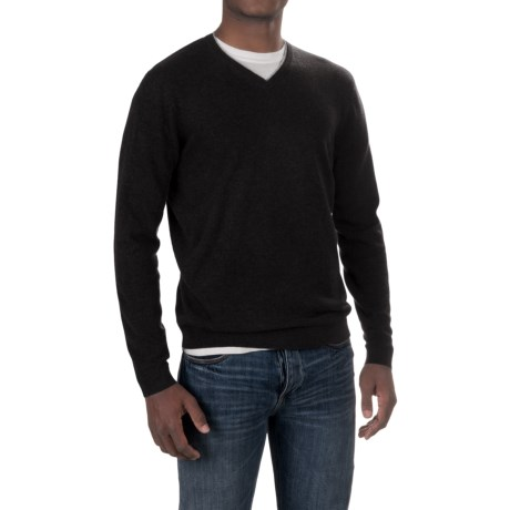 Forte Cashmere V-Neck Sweater (For Men)