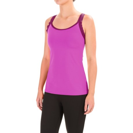 Stonewear Designs Double-Cross Tank Top - Built-In Shelf Bra (For Women)
