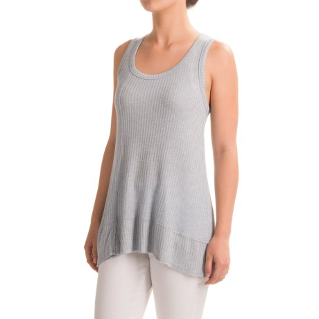 dylan Thermal Rib Tank Top - Stretch Rayon (For Women)