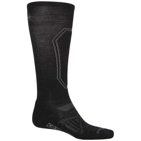 SmartWool PhD Light Ski Socks - Merino Wool, Over the Calf (For Men)
