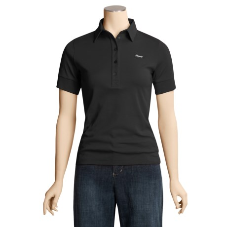 Bogner Leonide Cotton Polo Shirt - Short Sleeve (For Women)