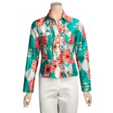 Bogner Caroll Jacket - Silk Print (For Women)