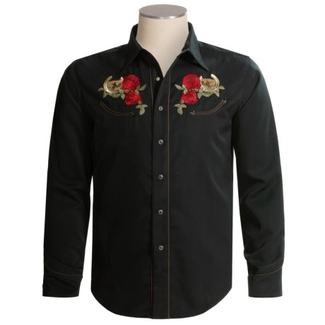 Really nice shirts roper old west collection western for Nice shirts for men