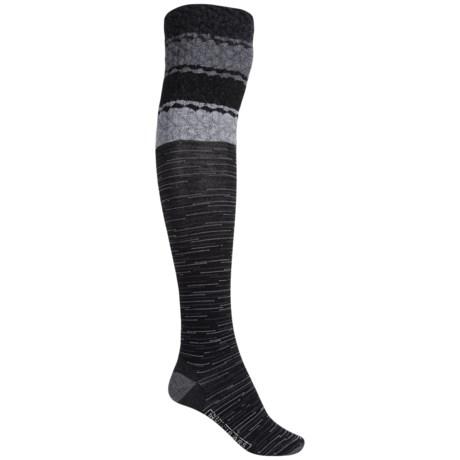 SmartWool Built Up Beehive Socks - Merino Wool, Over the Knee (For Women)