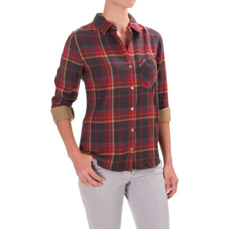 dylan Harley Plaid Shirt - Long Sleeve (For Women)