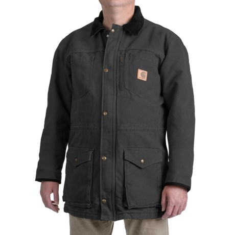Carhartt Canyon Sandstone Duck Coat - Factory Seconds (For Big and Tall Men)