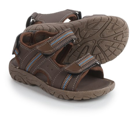 Rugged Bear Strappy Sport Sandals - Vegan Leather (For Toddler Boys)