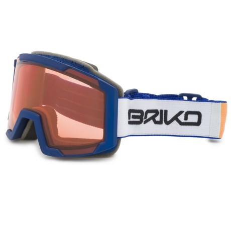 Briko Lava Jr. Ski Goggles (For Big Boys and Girls)
