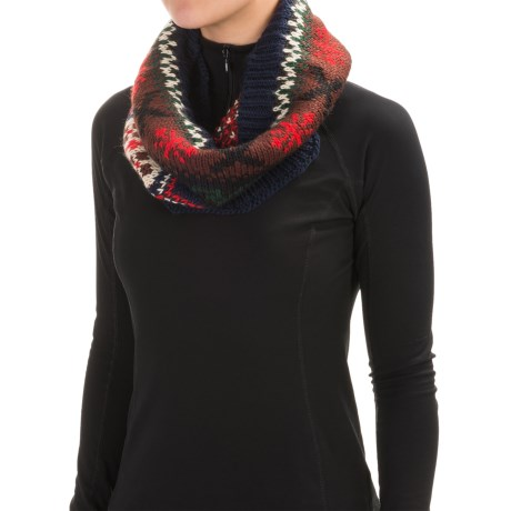 Muk Luks Winter Lodge Infinity Scarf (For Women)