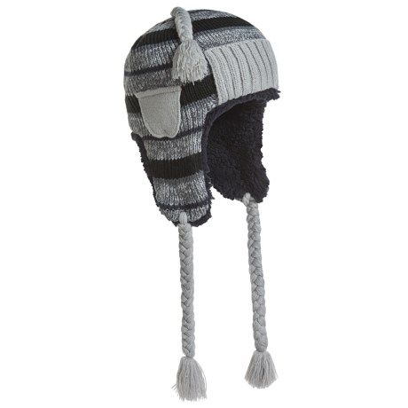 Muk Luks Striped Trapper Hat (For Men)