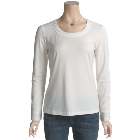 Think Tank Metallic T-Shirt - Long Sleeve (For Women)