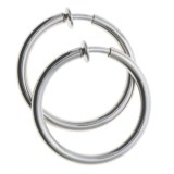 Jokara Endless Loop Earrings - Clip-On, Comfort Fit