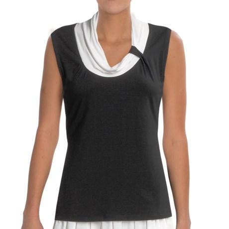 Think Tank Milan Shirt - Modal Jersey, Sleeveless (For Women)