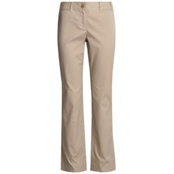 Think Tank Ottoman Pants - Stretch Cotton (For Women)