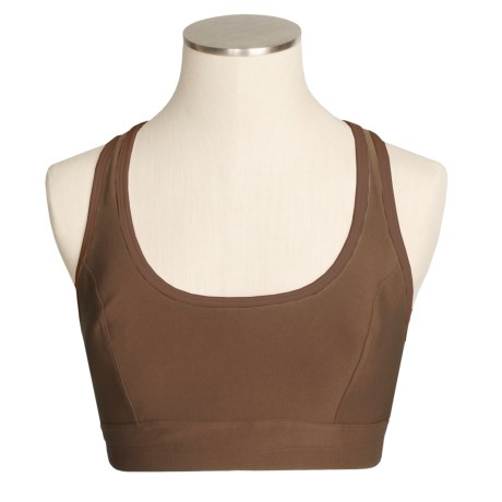 Moving Comfort Cameo Sports Bra - High Impact, Racerback (For Women)