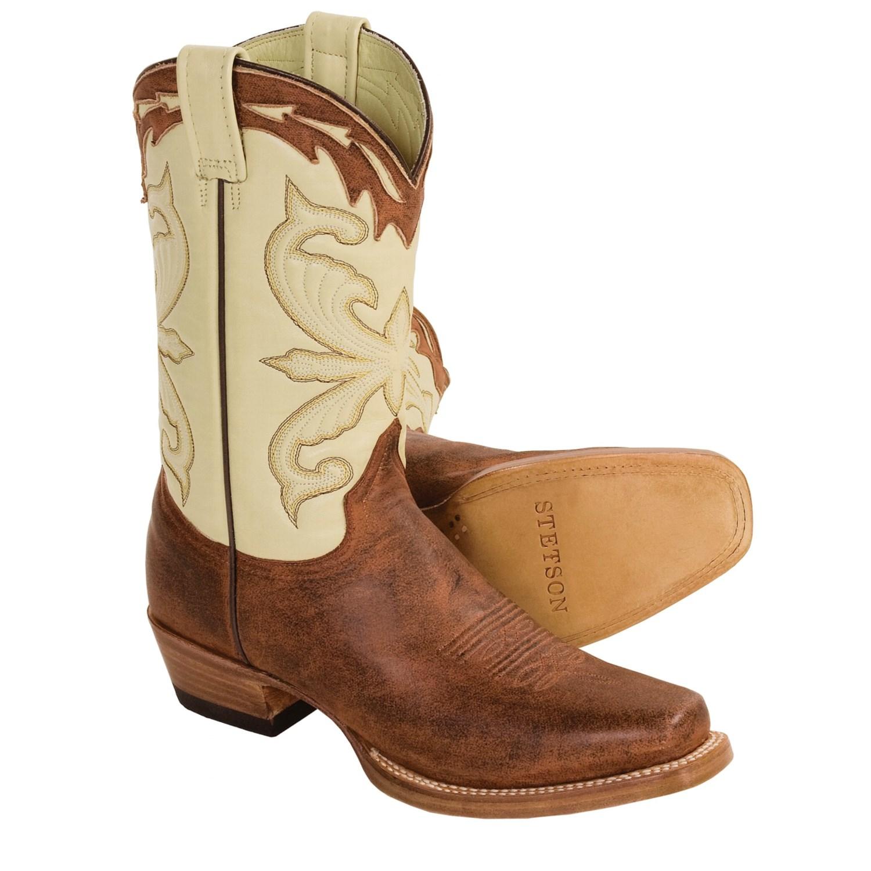stetson horseman handmade cowboy boots for 2439p