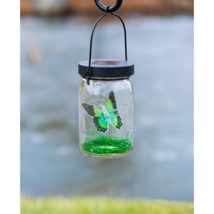 Echo Valley Solar Lantern in Butterfly - Closeouts