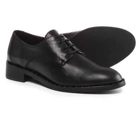 Barbara Barbieri Studded Oxford Shoes - Leather (For Women)