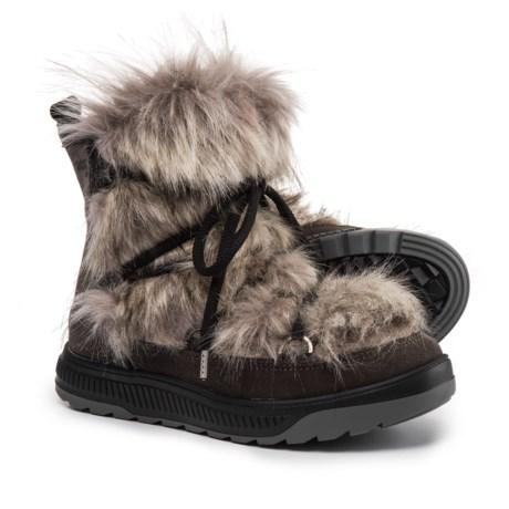 Oscar Sport Short Faux-Fur Boots - Suede (For Women)