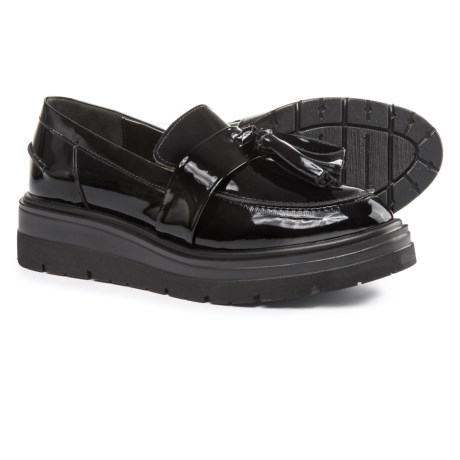 Anna Fidanza Double Tassel Moccasins - Patent Leather (For Women)