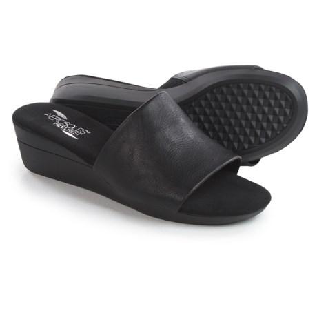 Aerosoles Florida Wedge Sandals - Vegan Leather (For Women)