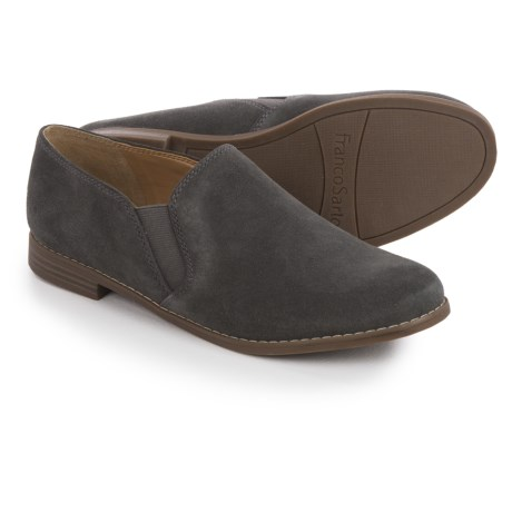 Franco Sarto Pardon Shoes - Suede, Slip-Ons (For Women)
