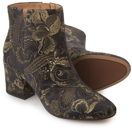 Franco Sarto Olympia Embroidered Ankle Boots (For Women)