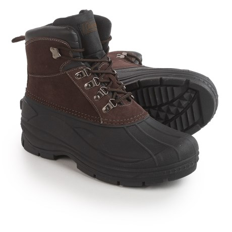 Coleman Glacier Thinsulate® Lace-Up Duck Boots - Waterproof, Insulated (For Men)