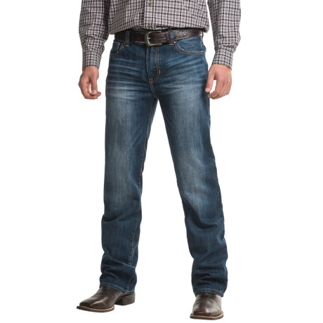 Rock & Roll Cowboy Pistol Jeans - Low Rise, Regular Fit, Straight Leg Jean (For Men)