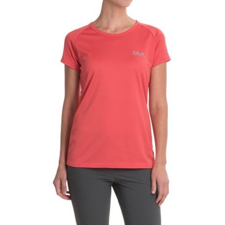 Trespass Alonza DLX Quick Dry CoolMax® Shirt - Crew Neck, Short Sleeve (For Women)