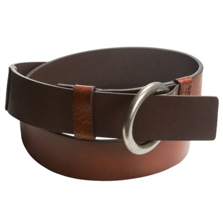 Carhartt Milled-Leather Ring Belt (For Women)