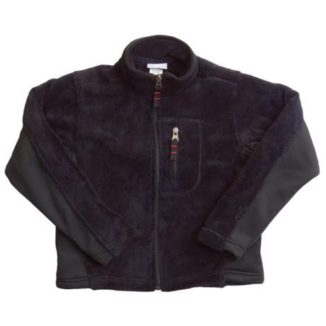 White Sierra Tech Fleece Jacket (For Girls)