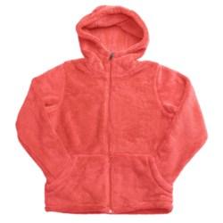 White Sierra Cozy Jacket - Fleece (For Girls)