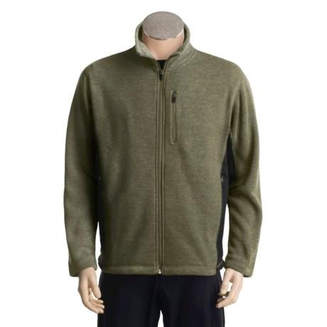 White Sierra Pyramid Peak Jacket - Fleece Lining (For Men)