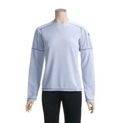 White Sierra Honeycomb Shirt - Long Sleeve (For Women)