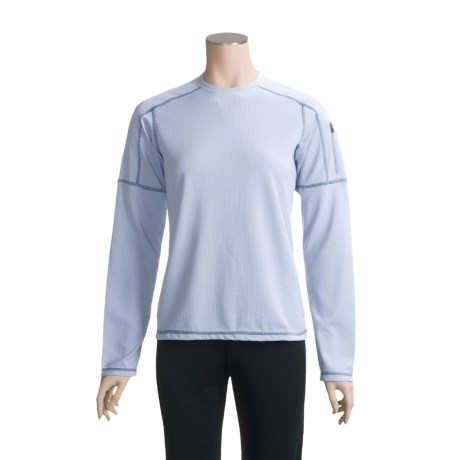 White Sierra Honeycomb Shirt - Long Sleeve (For Women)