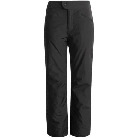 White Sierra Nylon Slider Pants - Waterproof, Insulated (For Women)