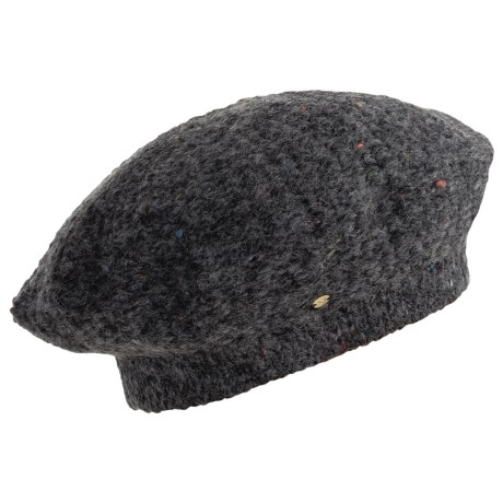 Betmar Luxurious Tam Hat - Seed Stitch (For Women)