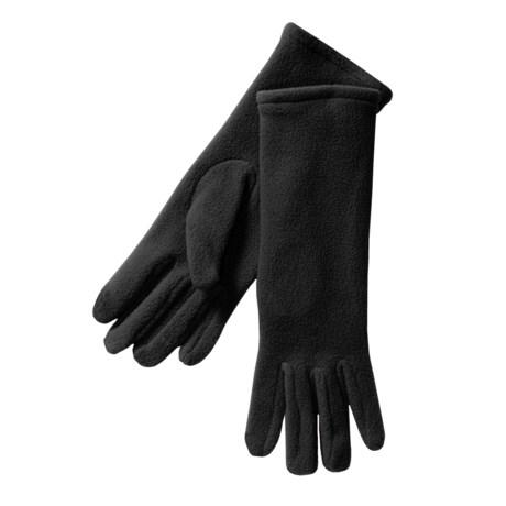 Betmar Longer Fleece Gloves (For Women)