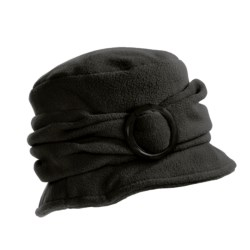 Betmar Fleece Buckle Cloche (For Women)