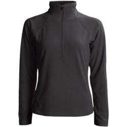 White Sierra Alpha Fleece Shirt - Long Sleeve (For Women)