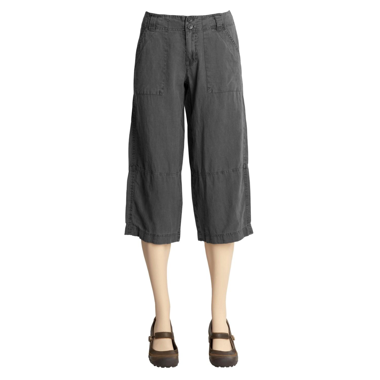 Simple Linen Pants For Women  Seal Relaxed Linen Pants  Island Company