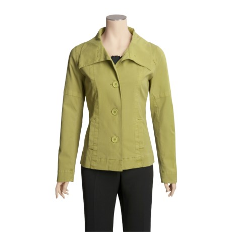 Pulp Mini Pique Jacket - Stretch Cotton (For Women)