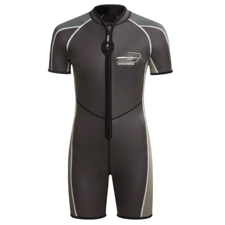 Camaro Neoprene Wetsuit Mono Core 2 mm - Short Sleeve (For Men)