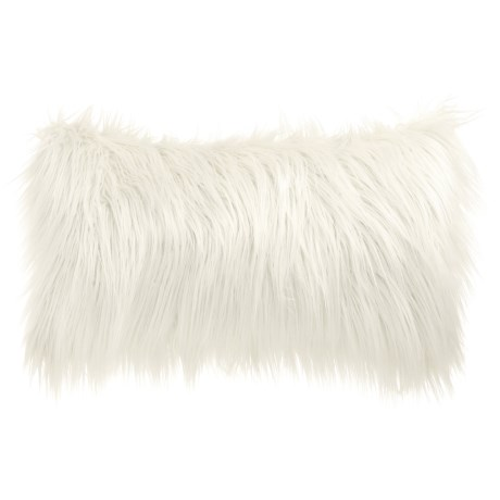 THRO by Marlo Lorenz Faux-Fur Pillow - 12x20""