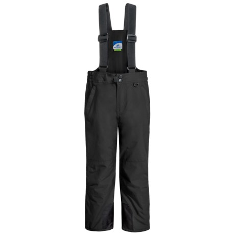 Slalom Suspender Snow Pants - Water Resistant, Insulated (For Little and Big Kids)