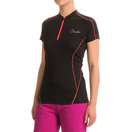Dare 2b Revel Cycling Jersey - Zip Neck, Short Sleeve (For Women)