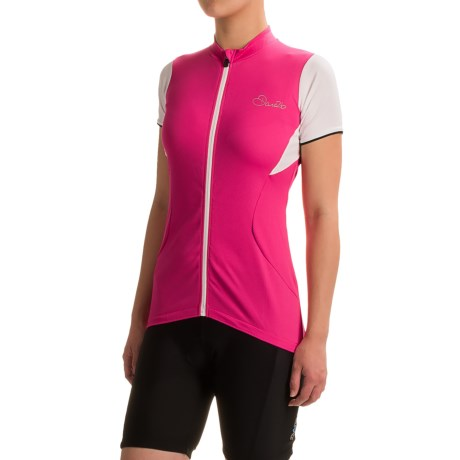 Dare 2b Bestir Cycling Jersey - Full Zip, Short Sleeve (For Women)