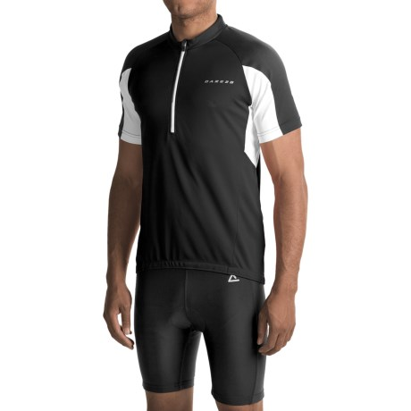 Dare 2b Commove Cycling Jersey - Zip Neck, Short Sleeve (For Men)